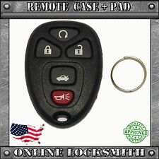 New Replacement Keyless Entry Remote Car Key Fob Shell Case & Pad GM 22733524