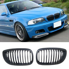 Front Kidney Grilles Grill For BMW E46 LCI Couple Convertible 325CI 330CI 03-06