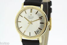 ZENITH 28800 Vintage 18K Yellow Gold Watch Automatic Cal. 2562PC Excellent (1609