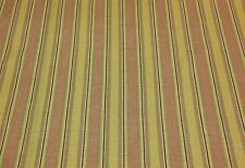 """MODA FRONT PORCH PASTEL STRIPE UPHOLSTERY FURNITURE FABRIC BY THE YARD 52"""" WIDE"""