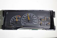 95-98 REBUILT GM TRUCK OR UTILITY SPEEDOMETER CLUSTER WITH 6k TACH WITH REDLINE