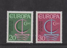 WEST GERMANY MNH STAMP DEUTSCHE BUNDESPOST 1966 EUROPA SG 1424-1425