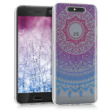 Kwmobile Crystal case para ZTE BLADE v8 indio sol imd Design cover TPU