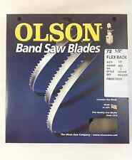 """Olson Band Saw Blade 72-1/2"""" to 72-5/8"""" x 1/2"""", 3TPI for Delta 28-195 & others"""