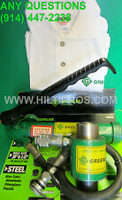 GREENLEE HYDRAULIC KNOCKOUT PUNCH RAM-PUMP SET, FREE T-SHIRT, L@@K,FAST SHIPPING
