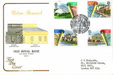 10 APRIL 1984 URBAN RENEWAL COTSWOLD FIRST DAY COVER CITY OF DURHAM SHS