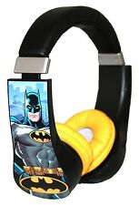Batman Kid Safe Over the Ear Headphone w/ Volume Limiter (30382)