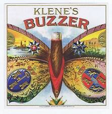 Klene's Buzzer, original outer cigar box label, butterfly