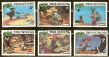 Mint Disney Turks & Caicos Islands cartoons stamps  (MNH)
