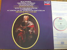 414 294-1 Handel Chandos Anthems Nos. 6A & 10 / Willcocks / King's