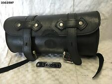 UNIVERSAL HANDLE BAR BAG FOR ALL MODEL ALL YEAR MOCK LEATHER  LOT33  33C2597