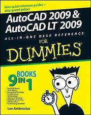 AutoCAD 2009 & AutoCAD LT 2009 All-in-One Desk Reference For Dummies (-ExLibrary