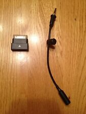Iphone 4/s LifeProof Black Dock Extender,Audio Adapter Cable & Black Plug.