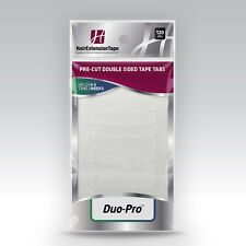 Walker Tape Duo-Pro Pre-Cut, Double-Sided Hair Extension Tape Tabs, 120 count