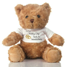 Bridal Gifts - Personalised Teddy Bear for the Bride