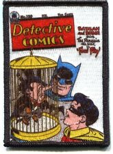 BATMAN penguin in cage EMBROIDERED IRON-ON PATCH dc comics *FREE SHIPPING* pdc46