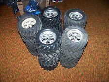 traxxas tmaxx emaxx revo savage chevron wheels tires rims 14mm rc monster parts