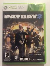 Payday 2 (Microsoft Xbox 360, 2013) Cleaned & Sealed FREE US SHIPPING