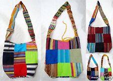 5Pc Wholesale Lot Vintage Shoulder Bag Embroidered Cotton Patch Messenger Bag