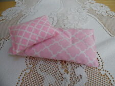 "Pink ~ Mattress/Pillow made to fit a ""Mini"" Doll Bed  #MBC4"
