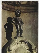 Bruxelles Manneken Pis Belgium Postcard 069a