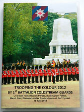DIAMOND JUBILEE TROOPING THE COLOUR 2012-1ST BN COLDSTREAM GUARDS DVD (FULL PDE)