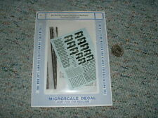 Microscale decals N 60-252 Burlington Northern General Freight #2  C79