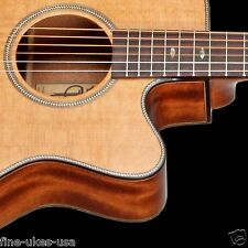 Teton STG205CENT All-Solid Acoustic Electric Grand Concert Guitar Only Ced/Mahog