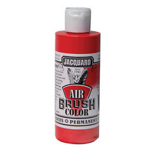 Jacquard Air Brush Colours Paint for Shoes / Sneakers - Metallic Red - 4oz