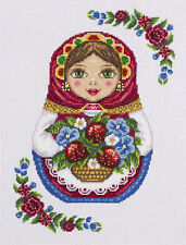 "PANNA Cross stitch kit ""Russian matryoshka"" Embroidery from Russia"