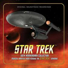 Star Trek 50th Anniversary - 4 x CD Boxset - Limited 3000 - Jerry Goldsmith