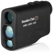New Founders Club Laser Lock 600 Golf Range Finder
