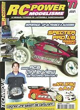 RC POWER MODELISME N°77 SPECTER PRO 1/8 / ASSORC8 / NT1 XRAY / NOMADIO REACT