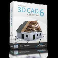 Ashampoo 3D CAD Architecture 6 dt.Vollversion ESD Download 34,99 statt 79,99 EUR
