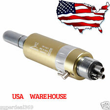 Dental NSK E-type Air Motor Handpiece 4 Hole Slow/ Low Speed USA Gold Yabangbang