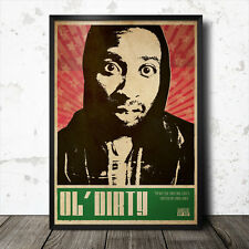 Ol' Dirty Bastard Hip Hop Art Poster Rap Music Wu Tang Clan NWA ODB