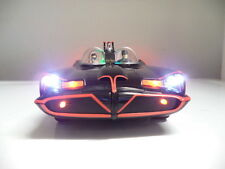 """Batman"" 1966 Batmobile 1/18 Movie Car w/Figures WORKING LED LIGHTS Burt Ward"