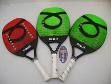 LOTTO TRIS TRE RACCHETTE BEACH TENNIS RACKET TOM CARUSO 2 BEACH 1 SUMMER IDEA RE