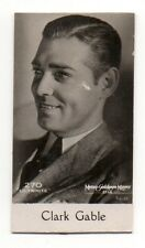Clark Gable 1931 De Beukelaer Cookies (Belgium) Film Star Card #270
