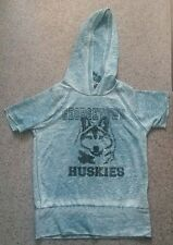 TOPSHOP realitee clothing company Speckled Huskies Hooded Top Size S