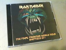 Iron Maiden Double CD Sheffield England The Final Frontier Tour 2011