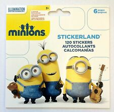 120 The Minions Movie Despicable Me Stickers  Party Favors Teacher Supply