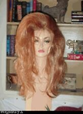 SIN CITY WIGS LONG RED SEXY HAIR HIGHLIGHTS SEXY VOLUME NATURAL BODY FULL GLAM!