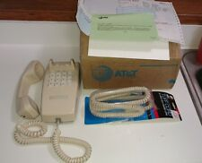 AT&T 0023 TRAD Wall mount phone. ivory. replacement phone