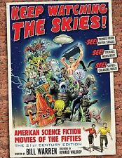 Keep Watching the Skies! American Science Fiction Movies of the Fifties, The 21s