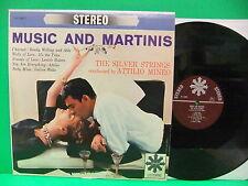 Attilio Mineo & The Silver Strings Music And Martinis 60's Stereo Perfect 14013