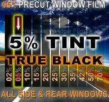 PreCut Window Film 5% VLT Limo Black Tint for Mazda 3 4DR Sedan 2014-2016