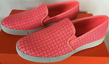 Under Armour UA DJ Leather 1286236-819 Brilliance Pink Slip-On Shoes Women's 7.5
