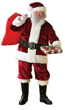Rubies Costume Adult Mens Regency Plush Christmas Santa Claus Suit | X-Large