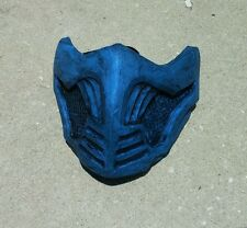 MKX Inspired mask costume cosplay Scorpion Sub Zero color Themed Mortal Kombat X